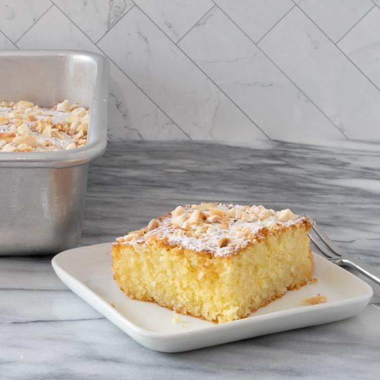 Greek Semolina Cake With Orange Syrup Tester Image
