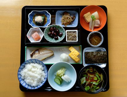 Typical Japanese Meal