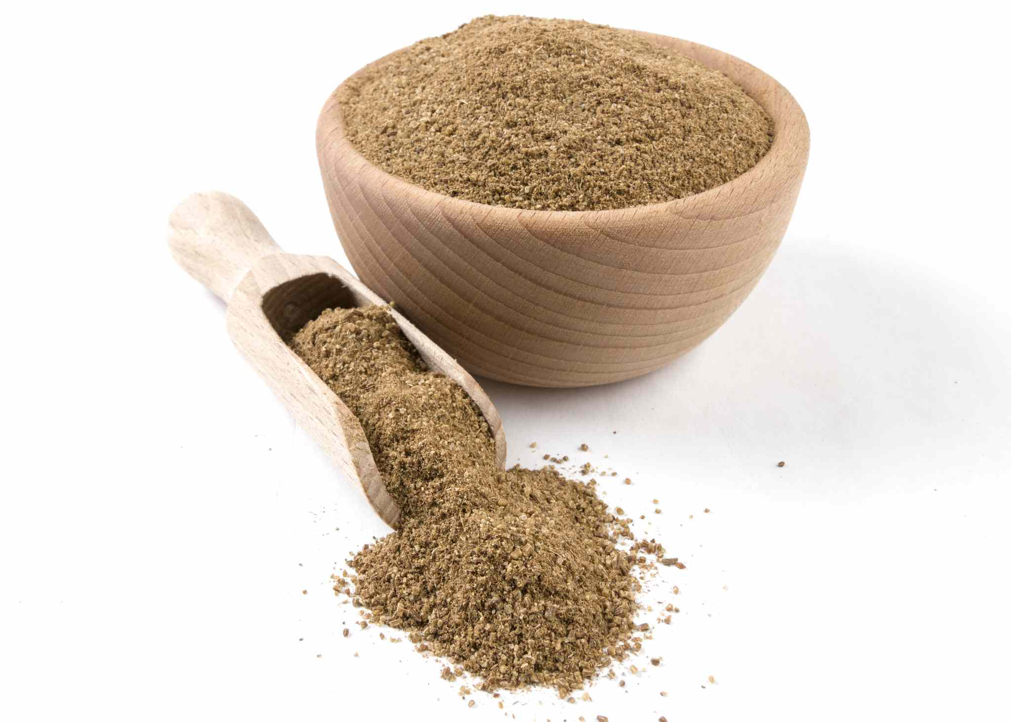Ground caraway powder