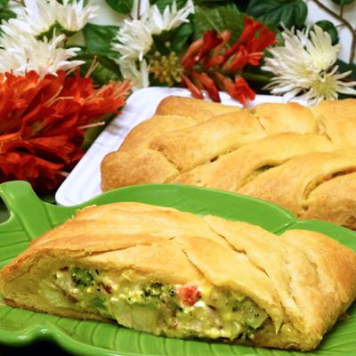 chicken broccoli stuffed bread recipe, poultry, how to make, tutorial, pictures, receipts