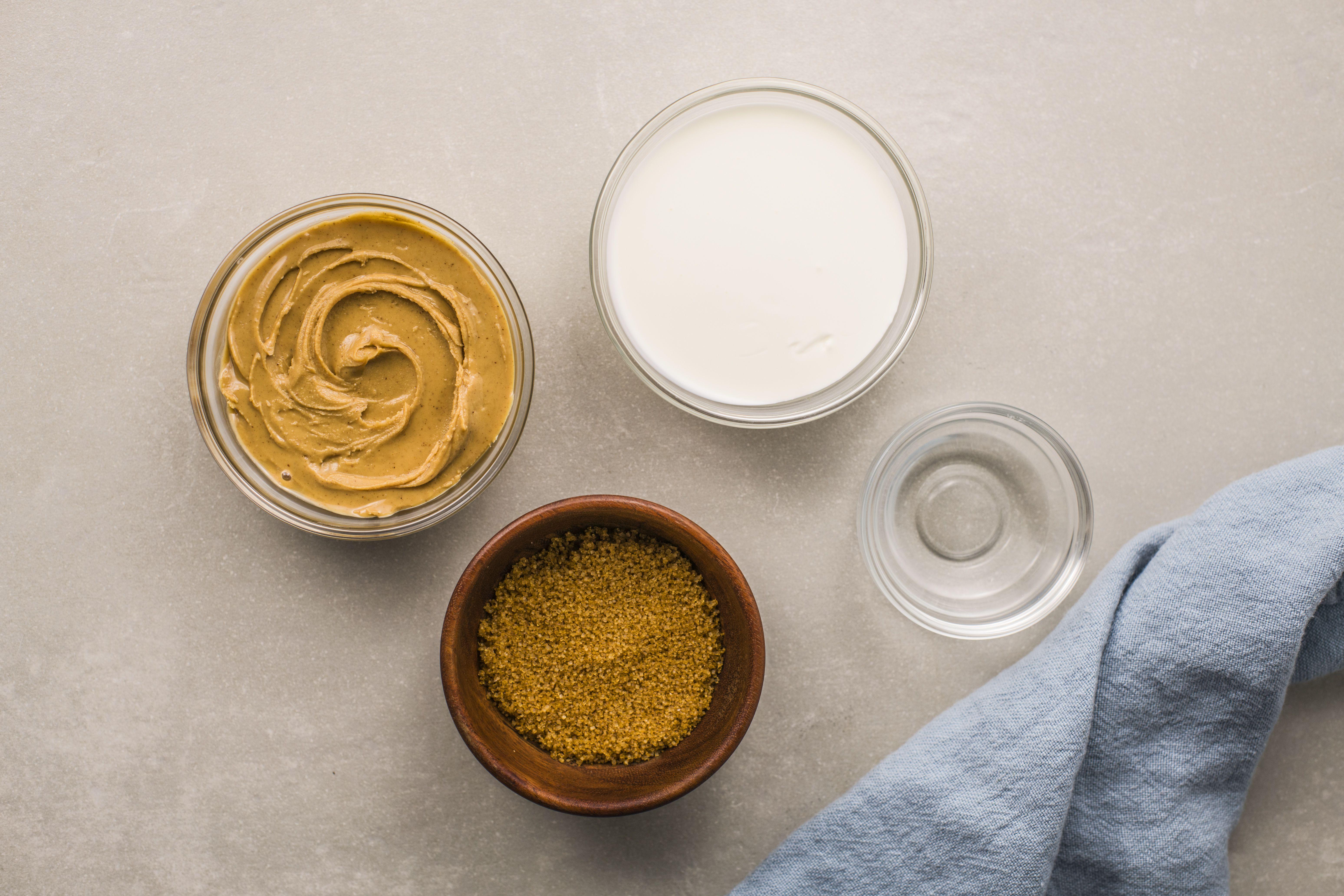 Peanut butter sauce ingredients
