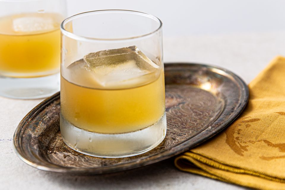 Classic Scotch Sour Cocktail