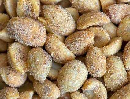 Spicy Cajun seasoned peanuts