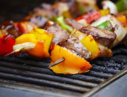 Mexican Fajita Kebabs