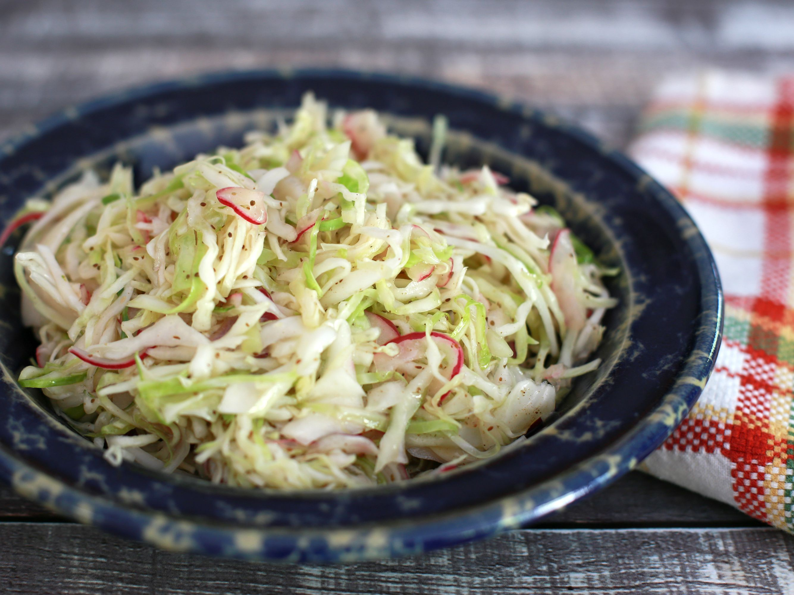 Tangy Coleslaw With Vinegar Dressing Recipe