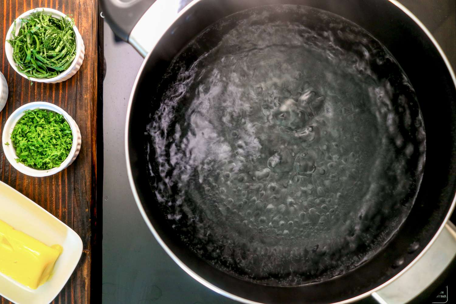 Bring large pot of water to boil and add salt