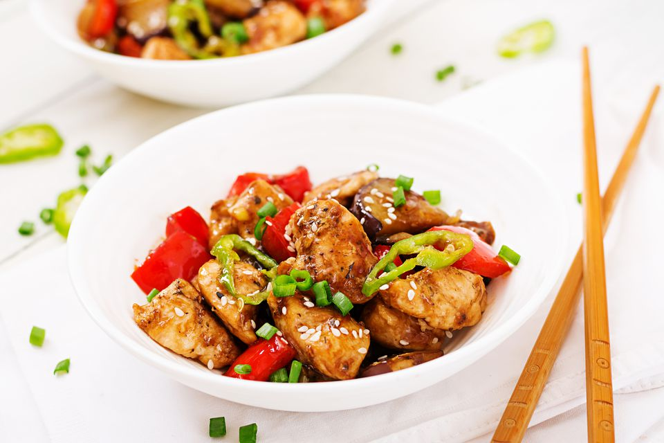 Kung Pao Chicken With Chili Peppers