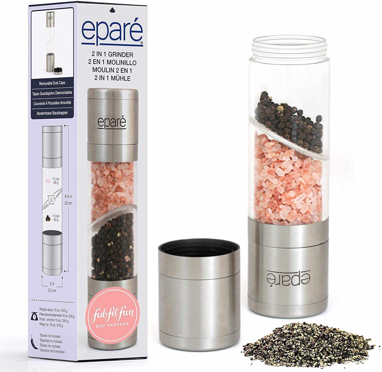 eparé 2-in-1 Salt & Pepper Grinder
