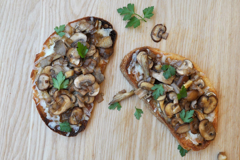 Savory Mushroom Toast Recipe