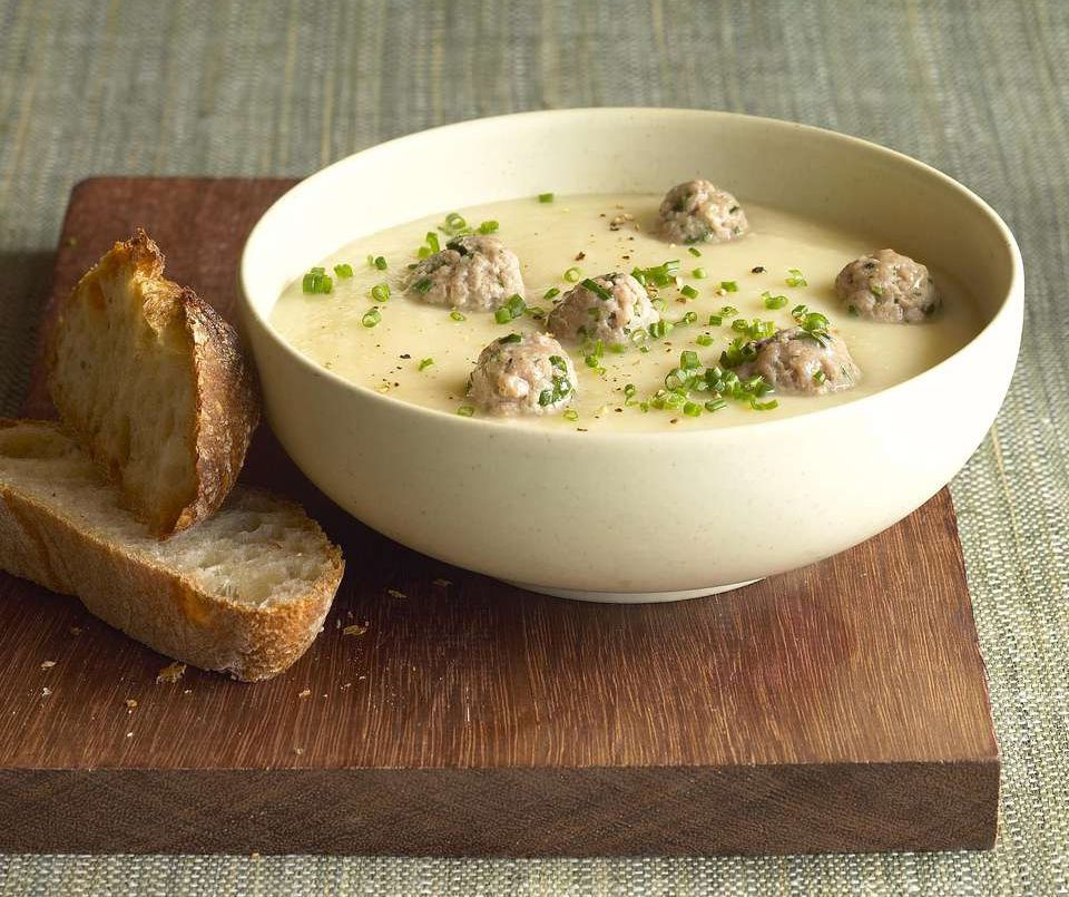Crock Pot Meatball and Potato Stew