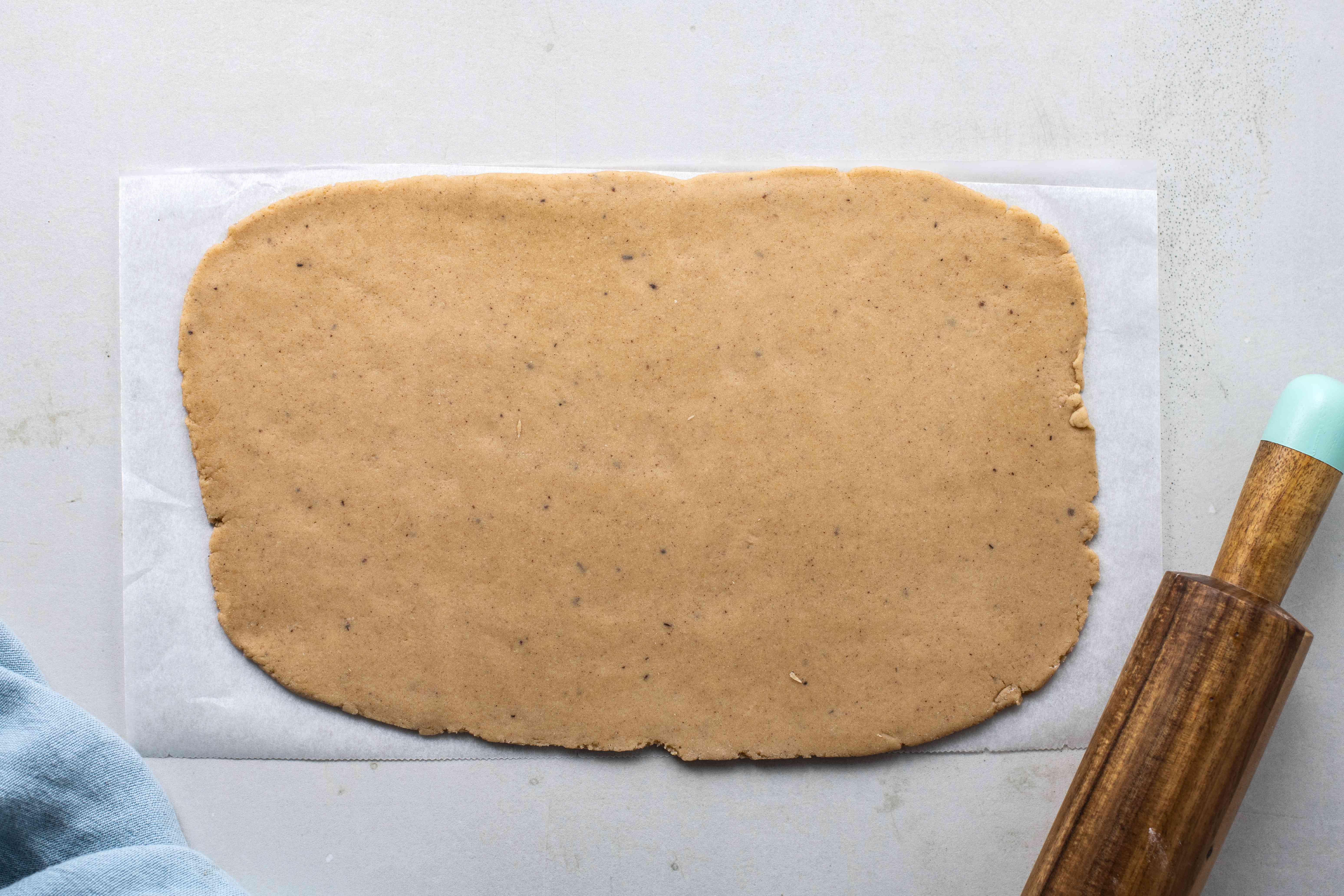 Roll out dough