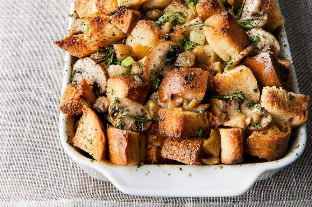Traditional Chestnut Stuffing