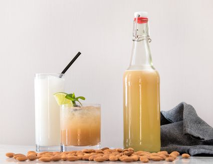 Homemade Orgeat Syrup
