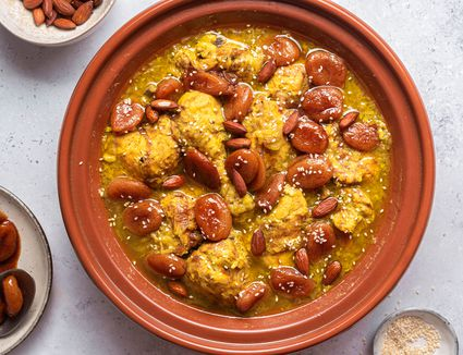 chicken and apricot tagine hero