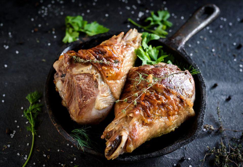 Roasted Turkey Legs Recipe