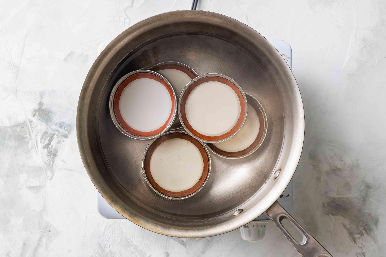 jar lids in a pot