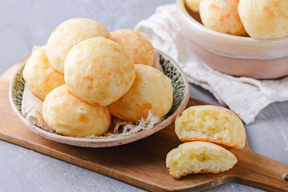 Pão de Queijo: Pan de queso brasileño