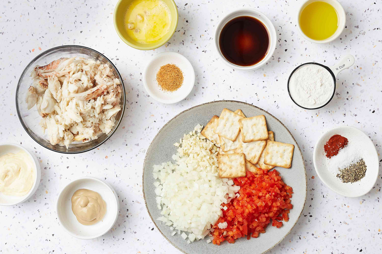 Gluten-Free Crab Cakes ingredients