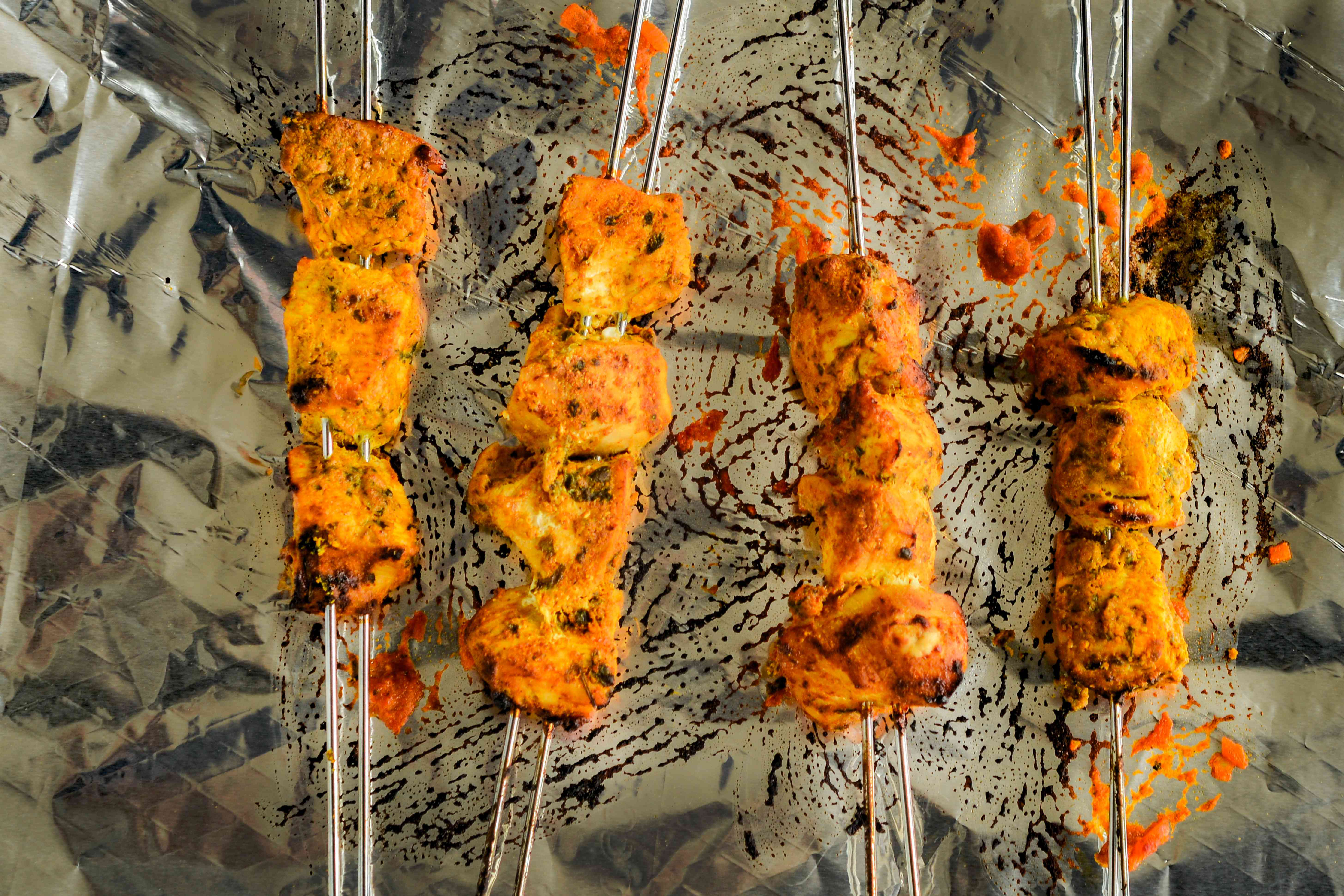 Chicken Tikka Masala grilled
