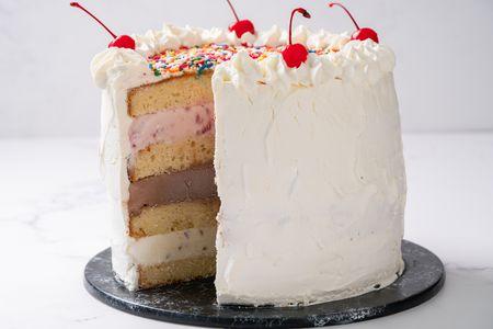 Incredible Ice Cream Cake Personalised Birthday Cards Paralily Jamesorg