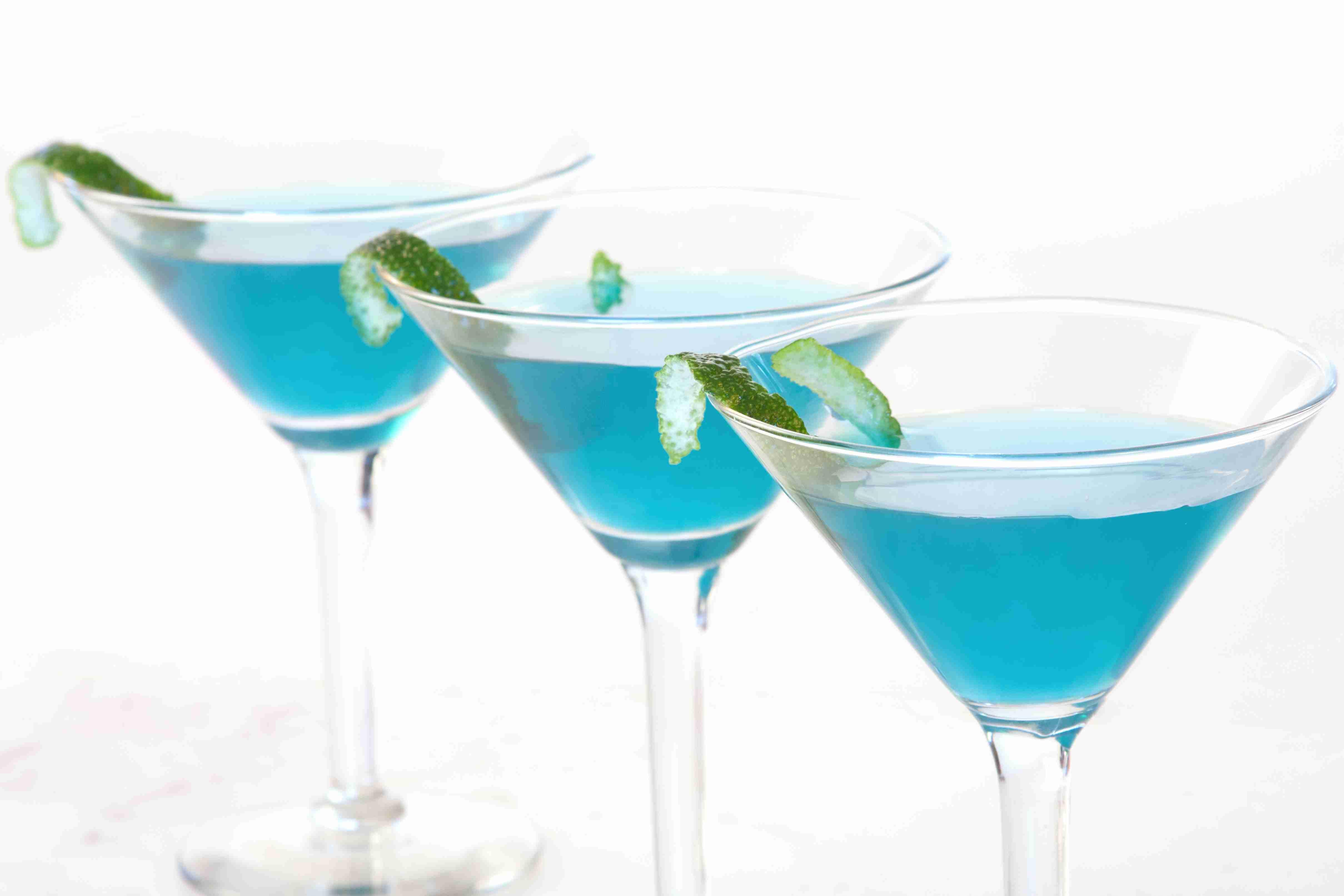 Berry White Martini