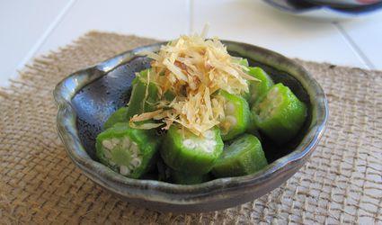Japanese Okra Salad