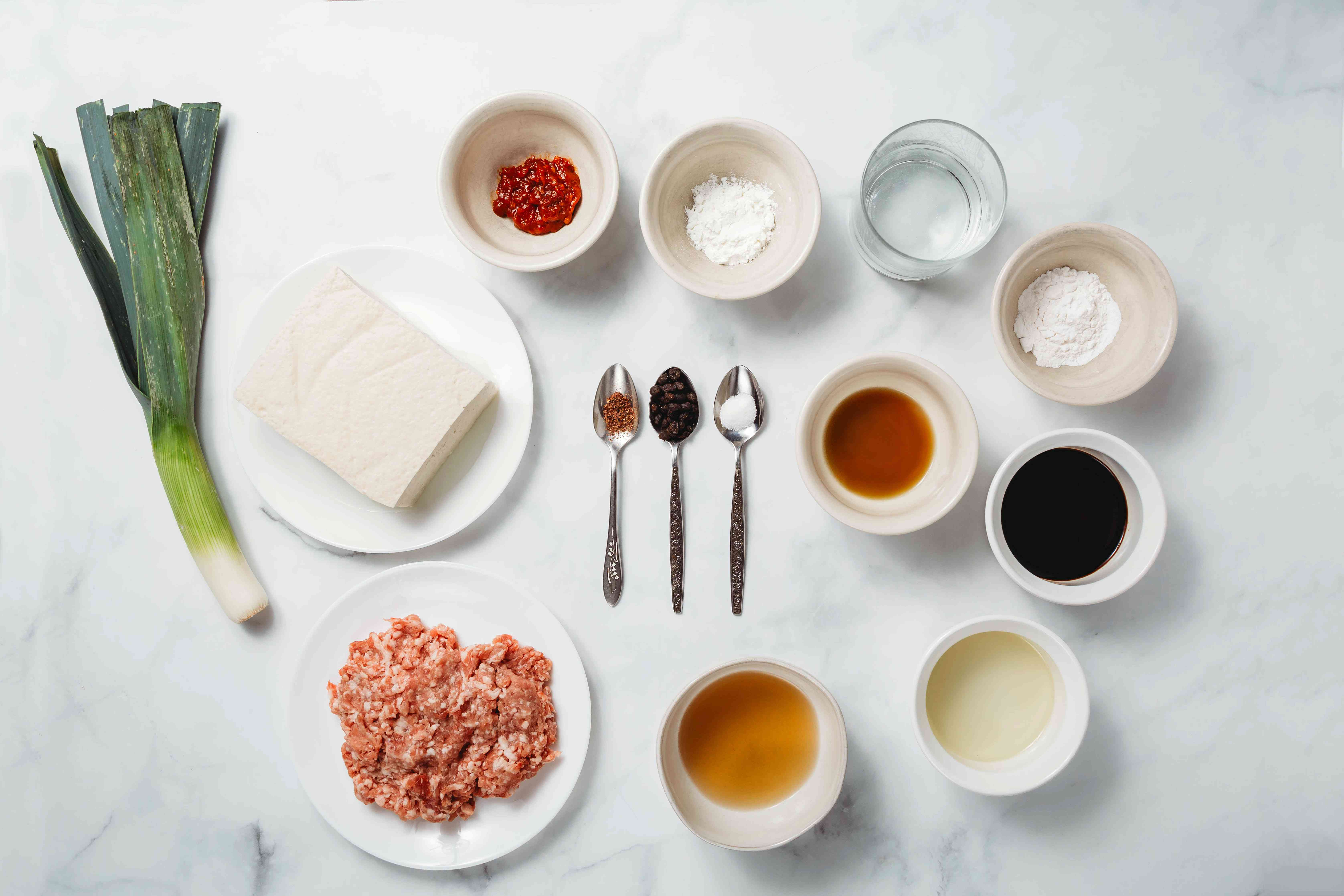 Mapo tofu recipe ingredients