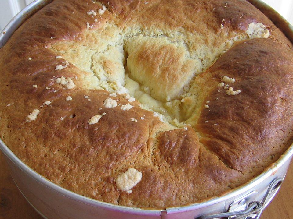 Polish Wheel Cake Kołacz
