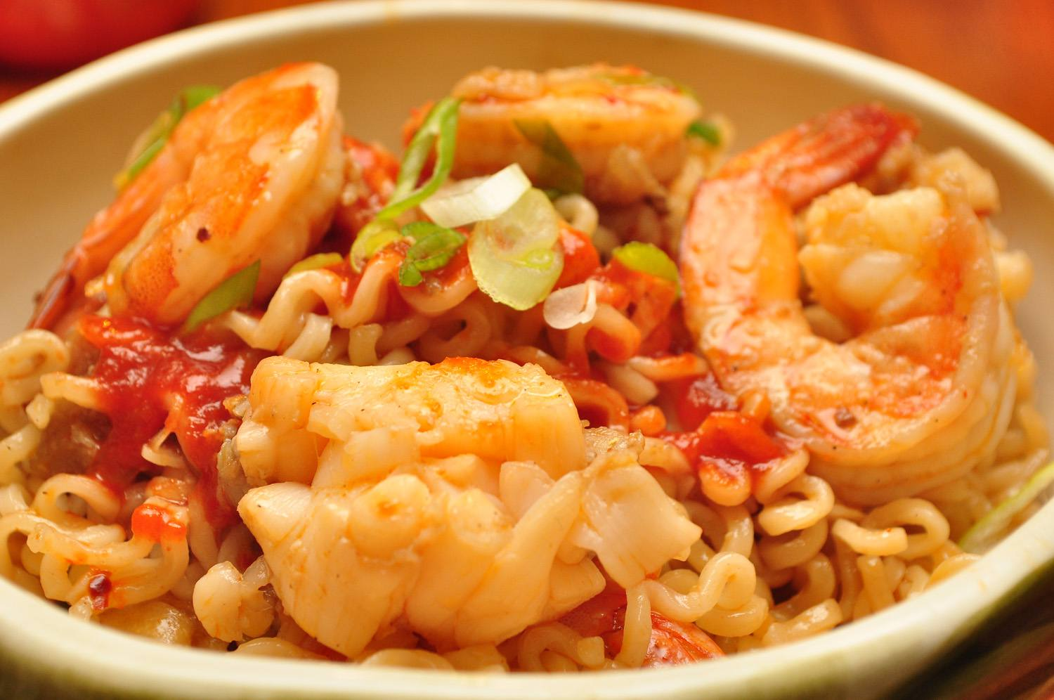Shrimp With Lobster Sauce