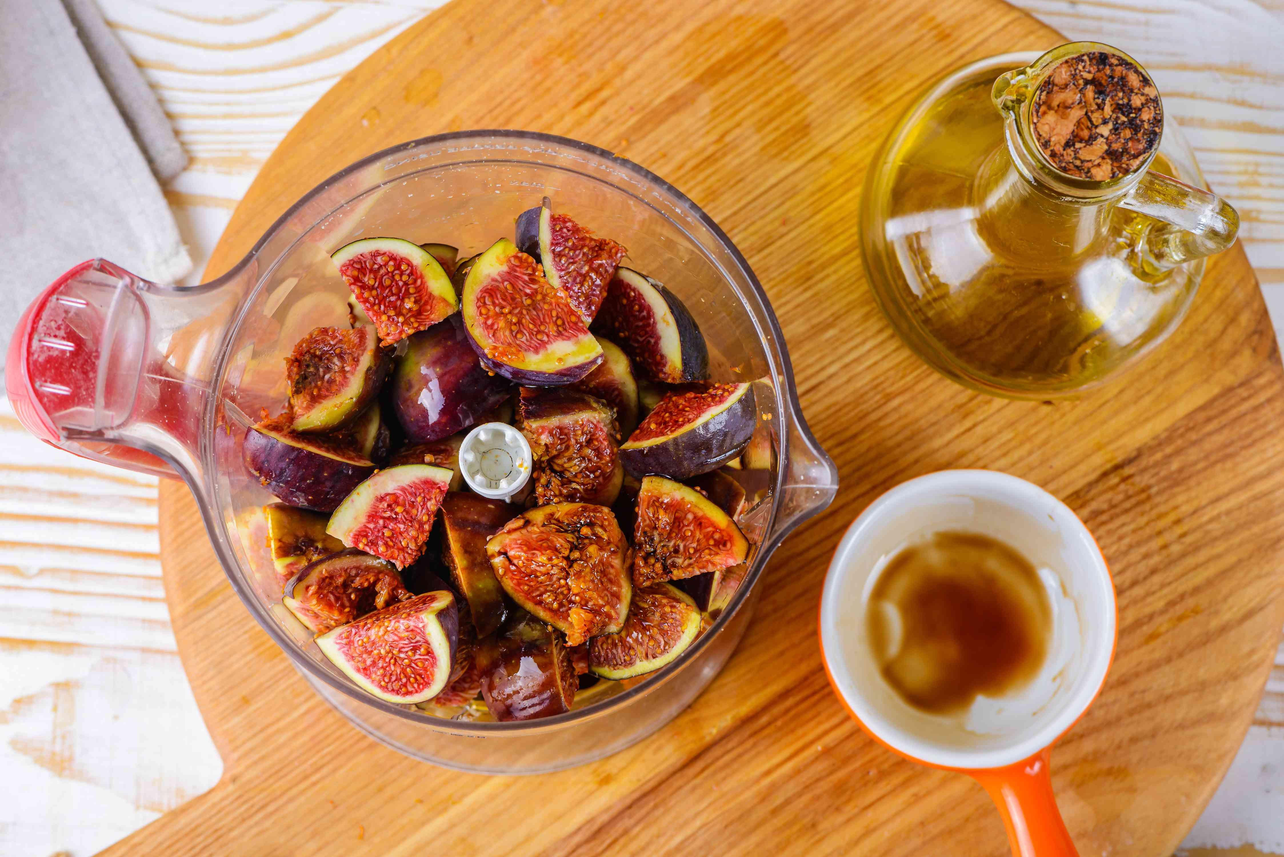 Chopped fig