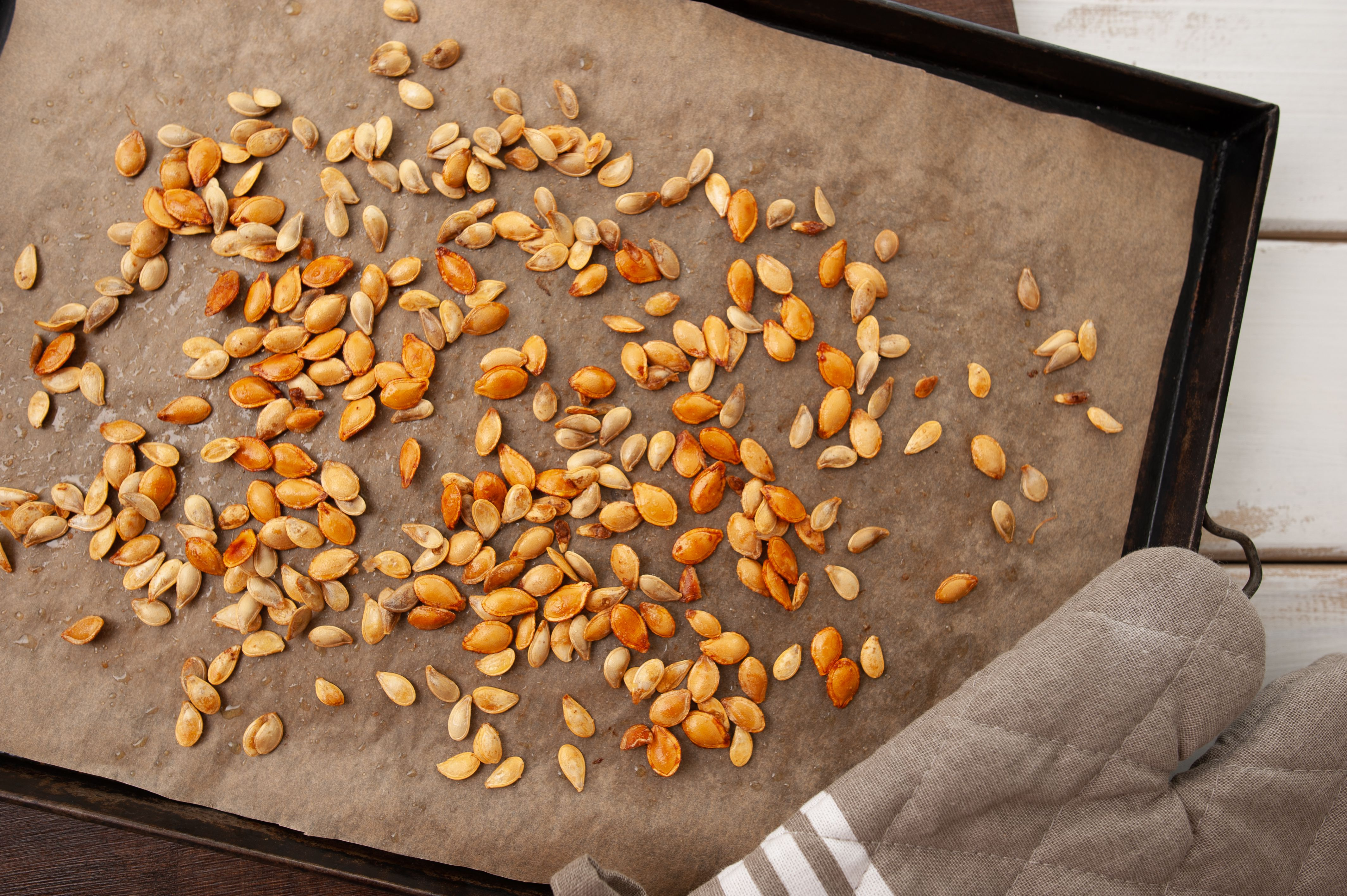 Baked seeds