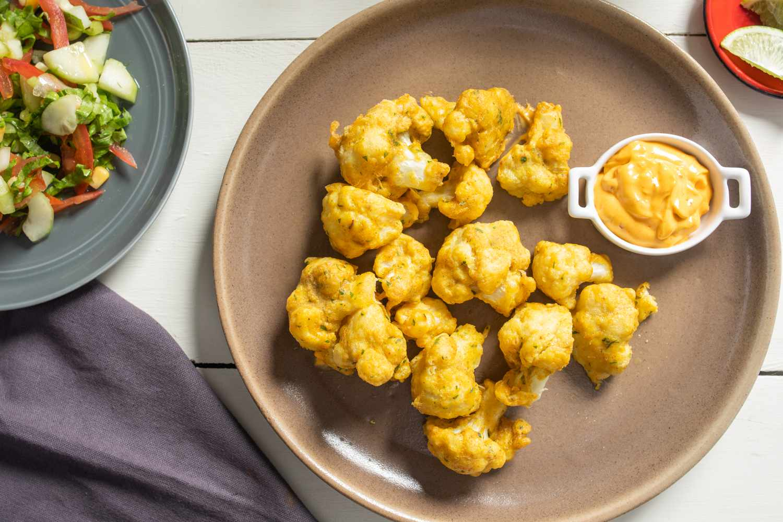 Moroccan fried cauliflower recipe