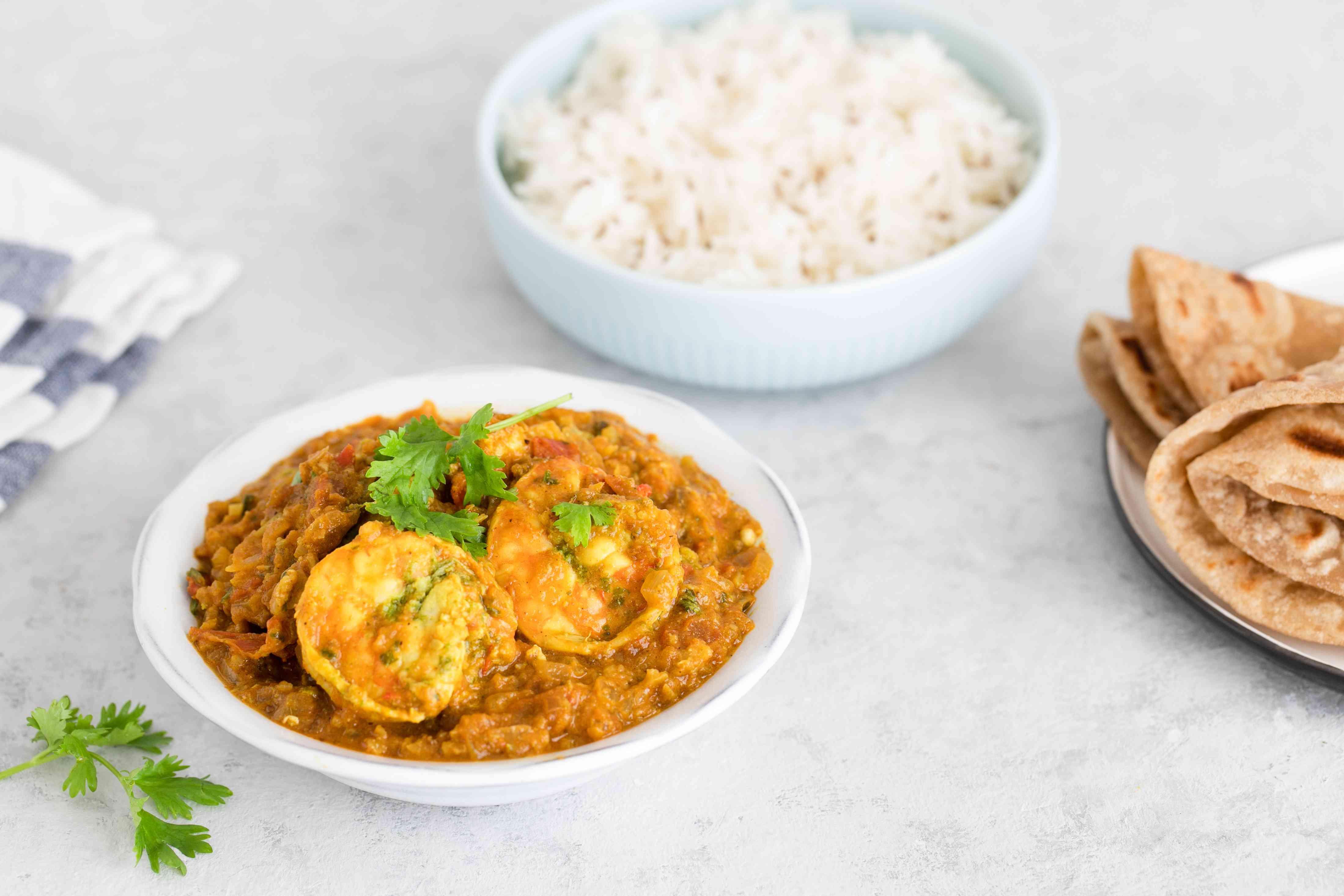 Indian prawn masala recipe