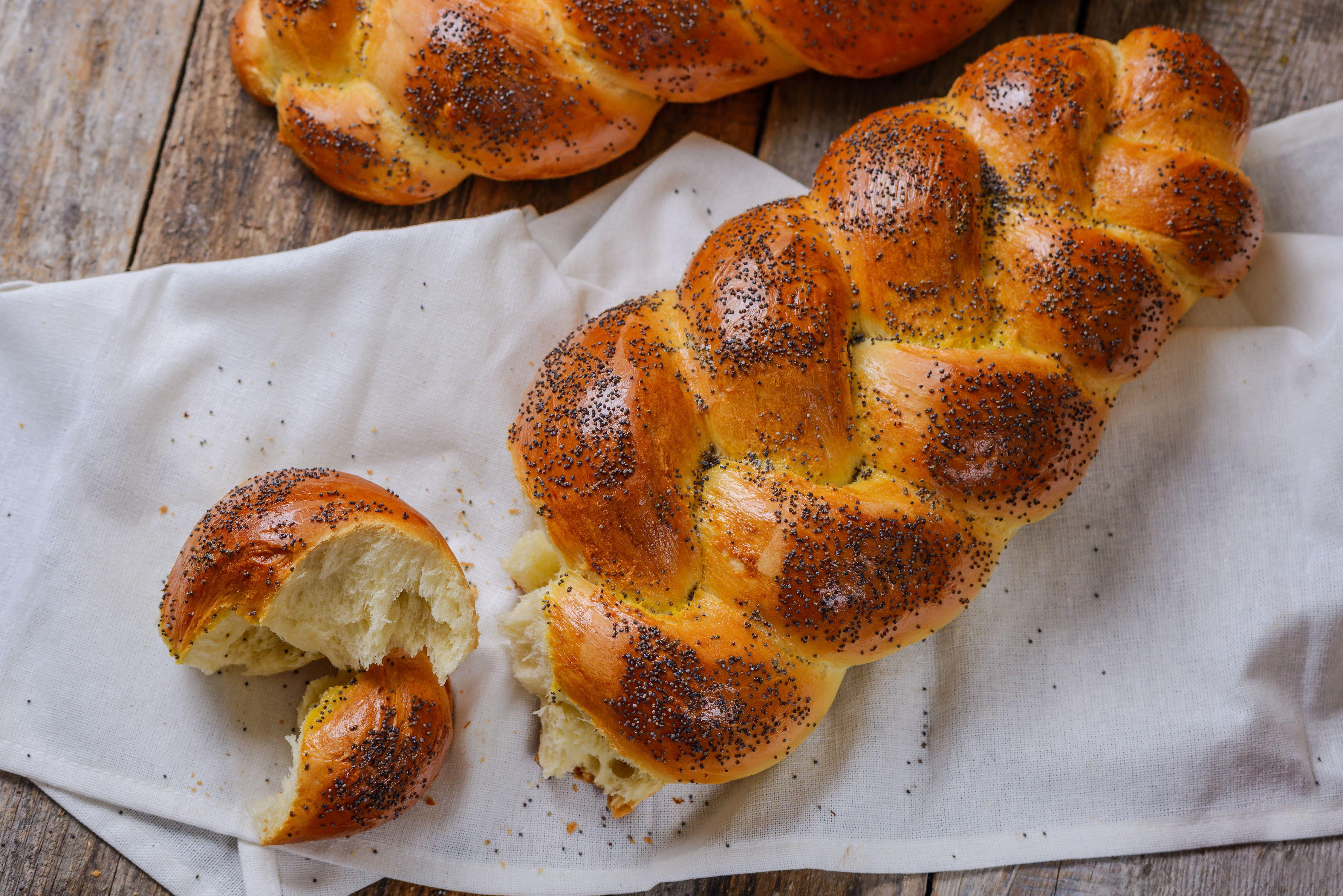 Braided Sabbath 3 Egg Challah Bread Recipe