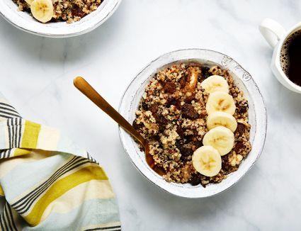 Maple cinnamon breakfast quinoa recipe