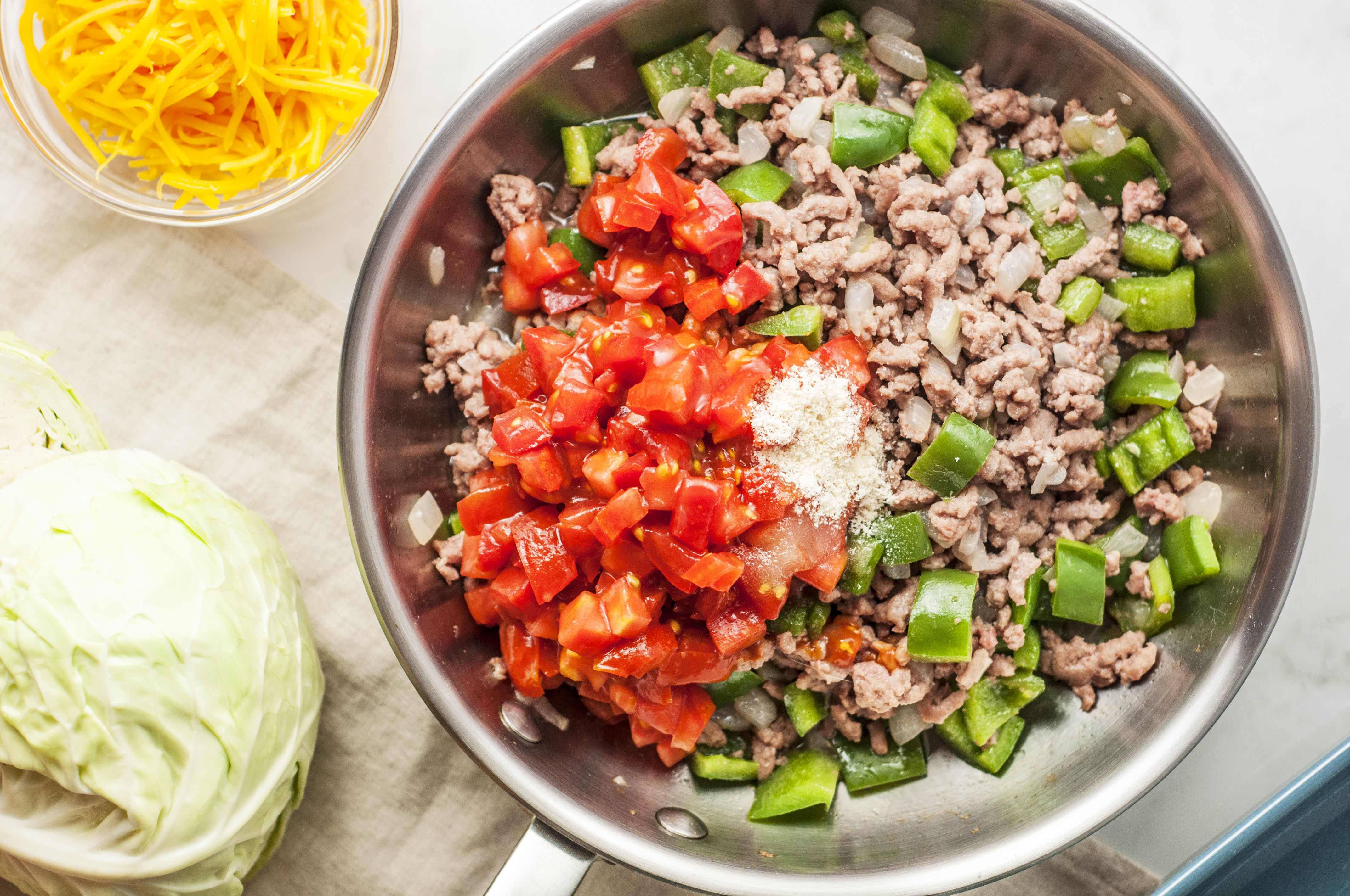 Mixed beef and vegetables for casserole
