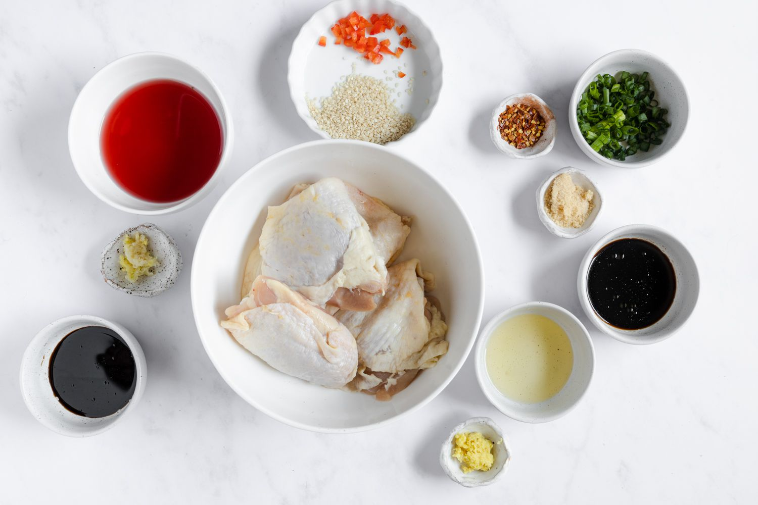Marinated Ginger Chicken for the Grill ingredients