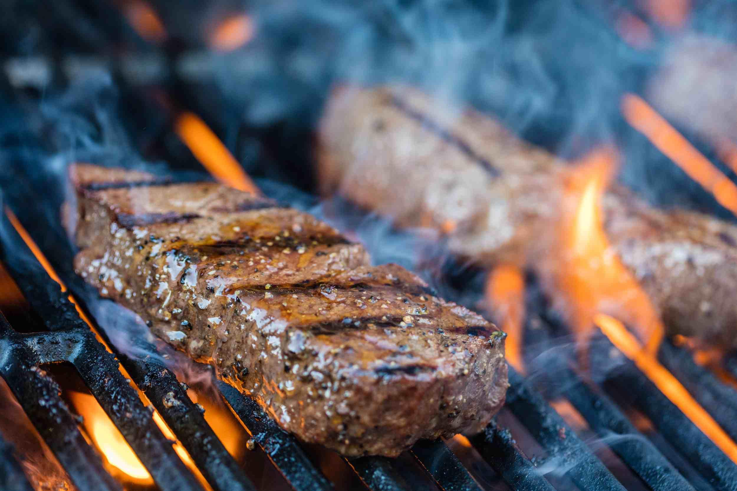 Top sirloin steak.