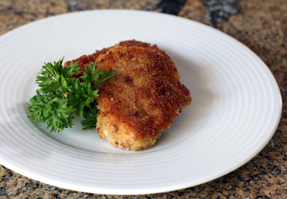 Bacon and Panko Crusted Tenderloin Medallions