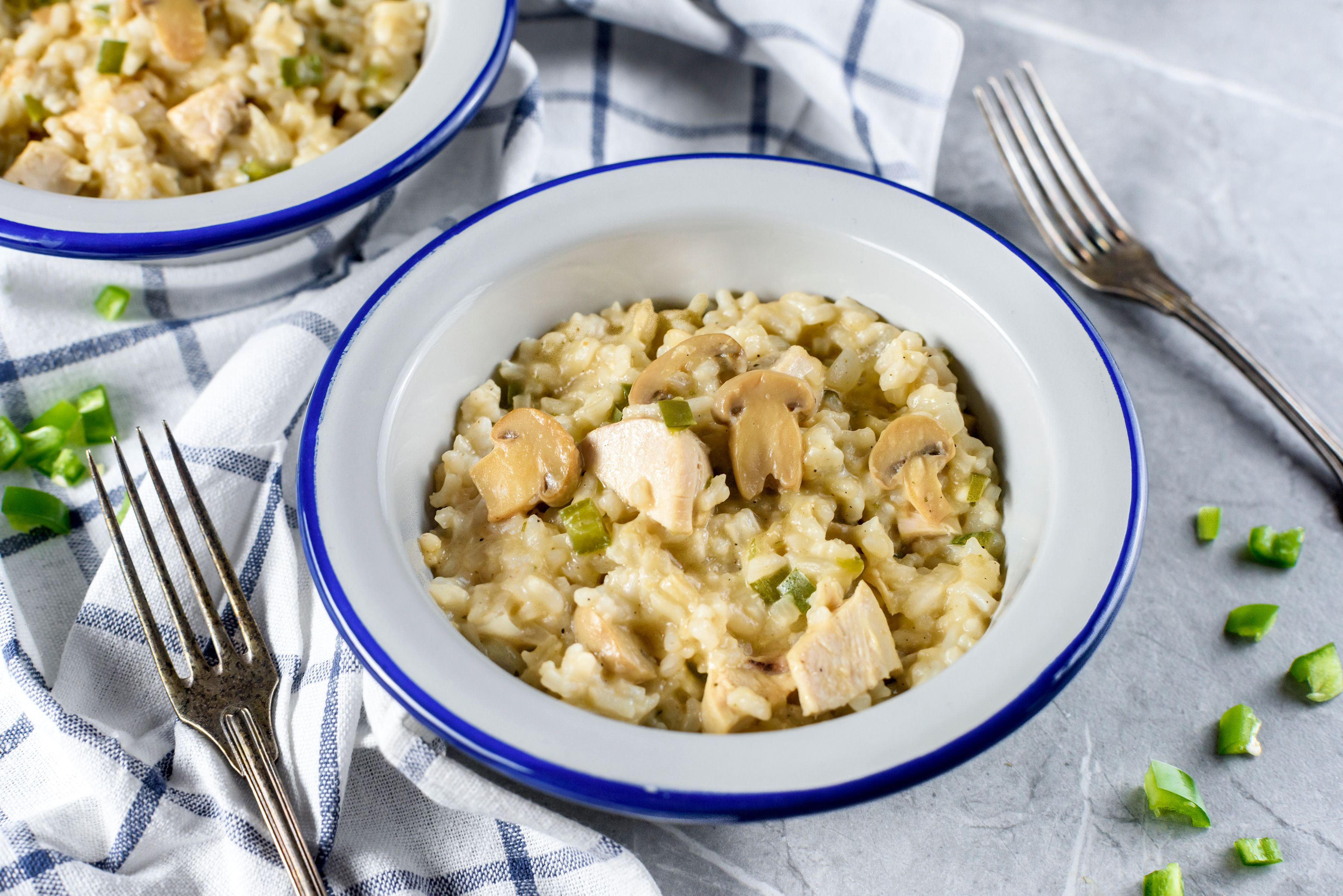 Easy turkey and rice casserole