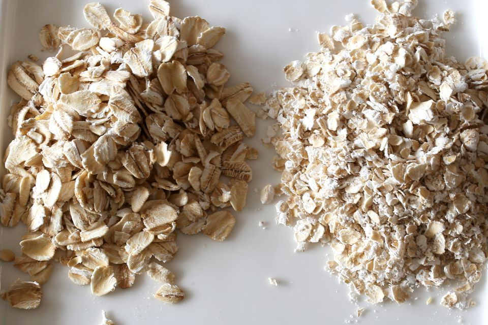 Rolled oats vs. quick oats