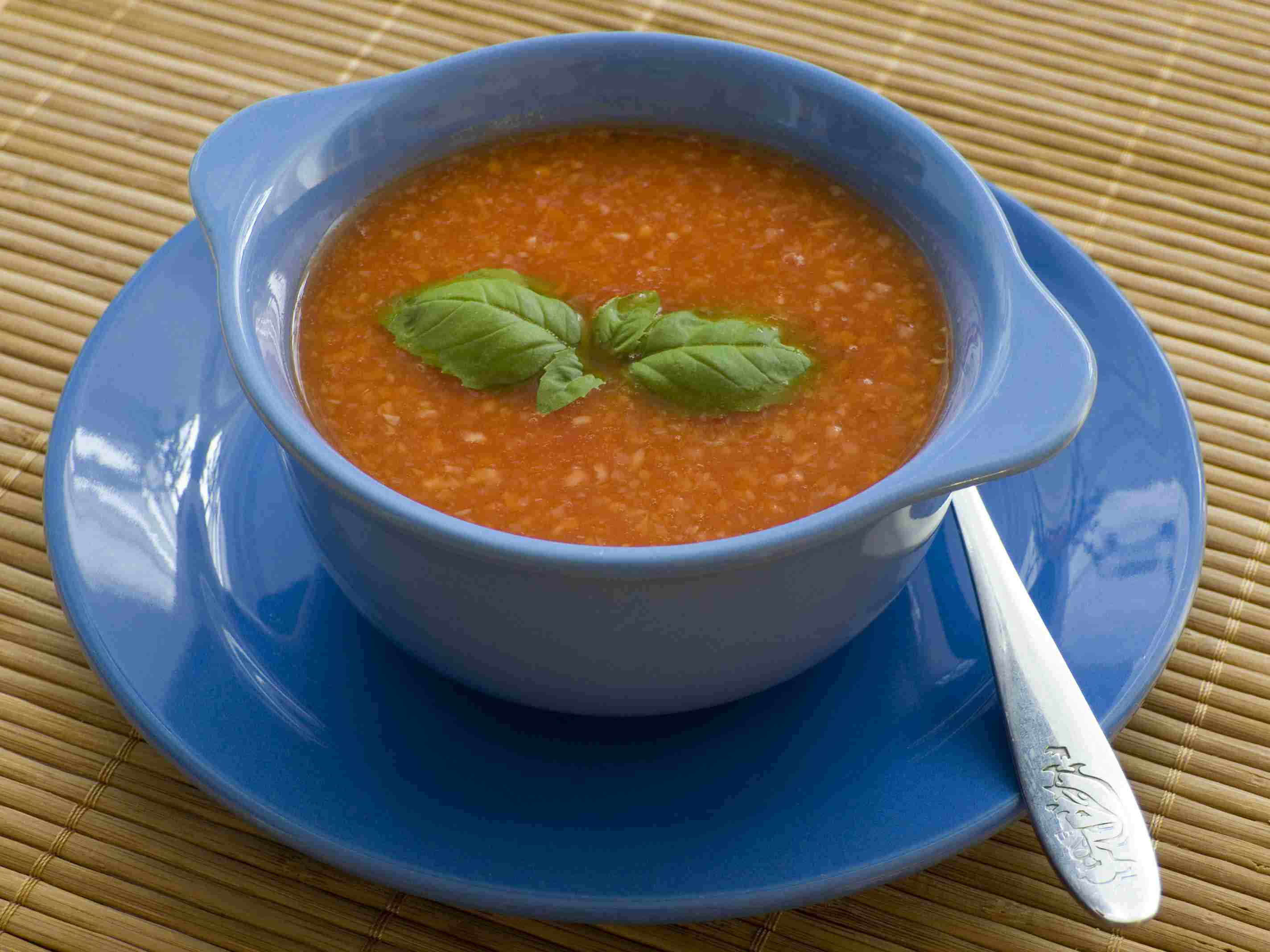 Provencal Tomato Rice Soup