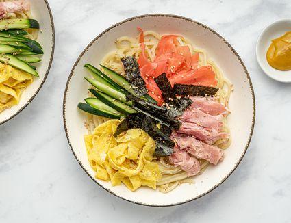 Japanese Cold Noodles (Hiyashi Chuka)