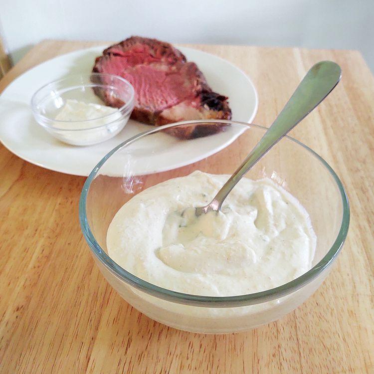 Horseradish Sauce for Roast Beef Tester Image