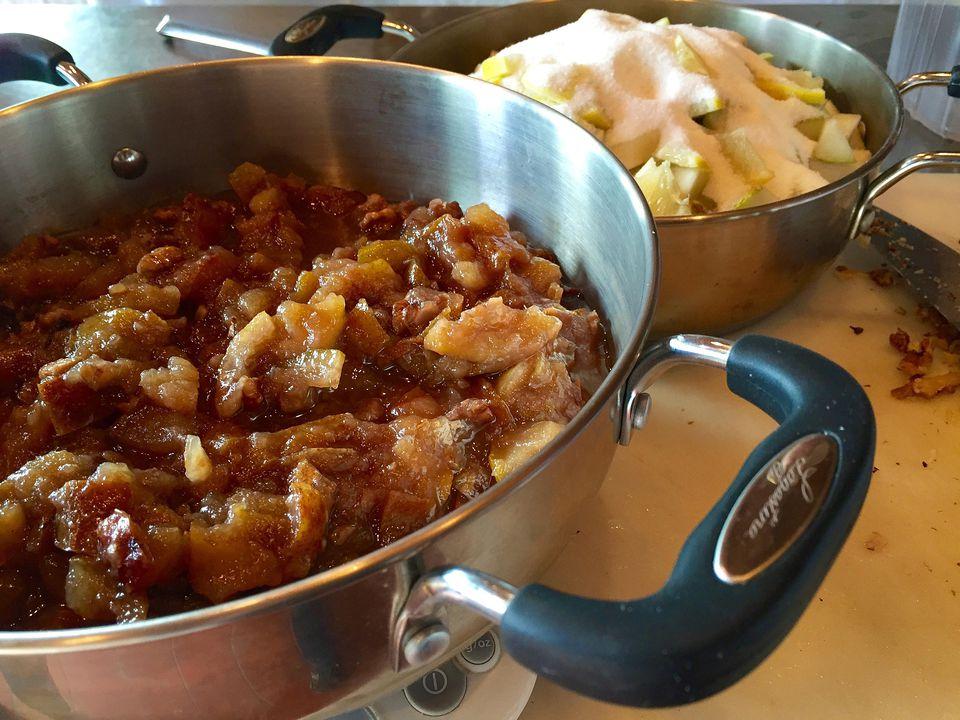 Pear, Walnut & Lemon Conserve