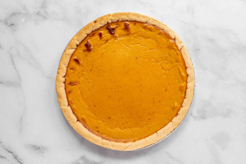 baked Sugar-Free Pumpkin Pie