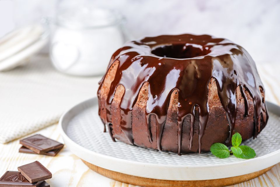 Chocolate Bundt Cake With Chocolate Glaze Recipe
