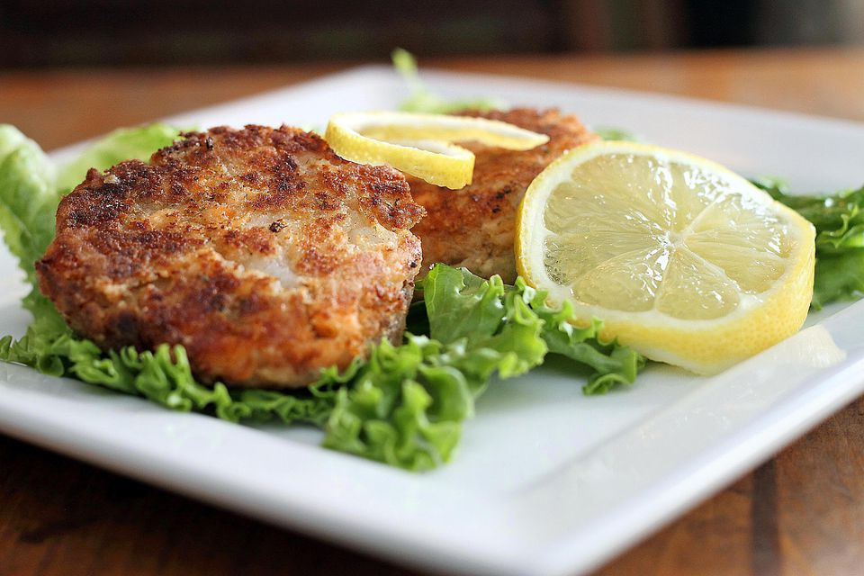 Tuna and Chickpea Patties