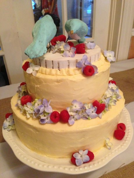 Homemade Wedding Cake.Inspiring Tales Of Diy Wedding Cakes