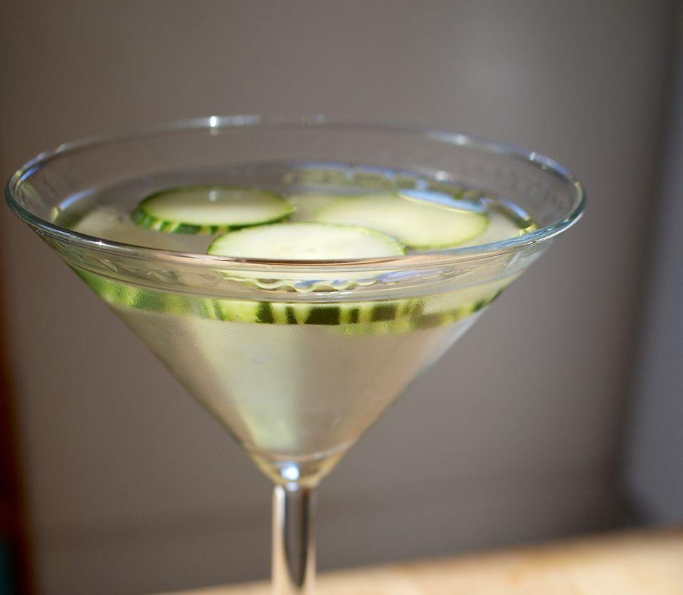Cucumber-Infused Vodka